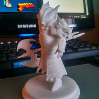 Small Laika Fire Knight 3,5 inches Tall 3D Printing 130012