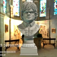 Small Tyrion Lannister Bust 8cm height 3D Printing 130019