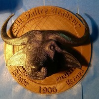 Small Rift Valley Academy Seal 3D Printing 130041