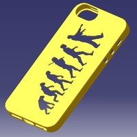 Small iPhone 5S Evolution Case 3D Printing 130073