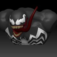 Small Venom Marvel Character 3D Printing 130093