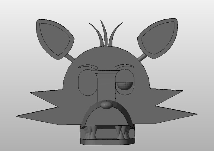 Foxy - Five Nights At Freddy's 3D Print 130097