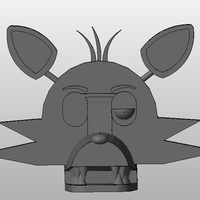 Small Foxy - Five Nights At Freddy's 3D Printing 130097
