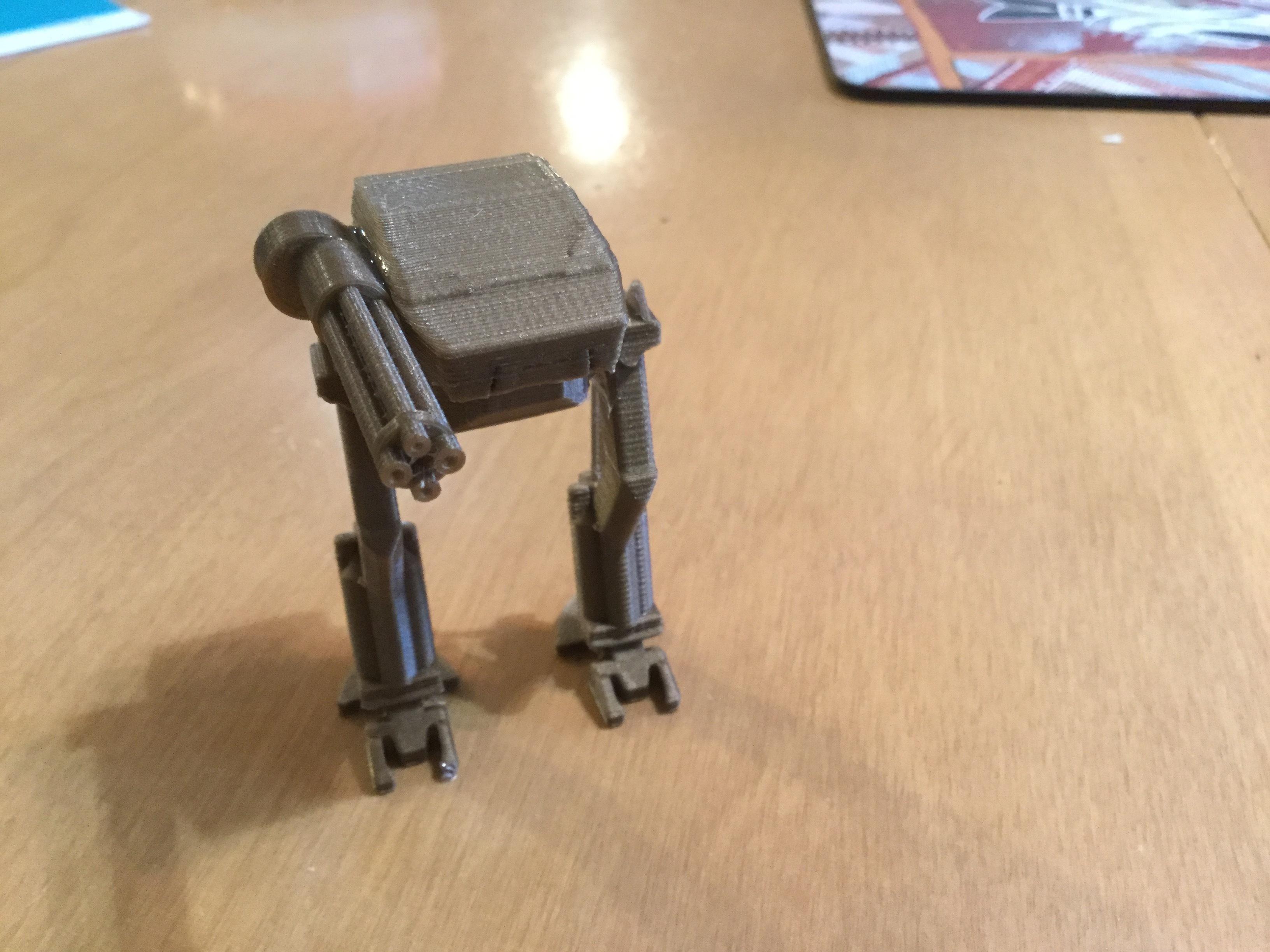 3D Printed Mech Robot by odragon   Pinshape