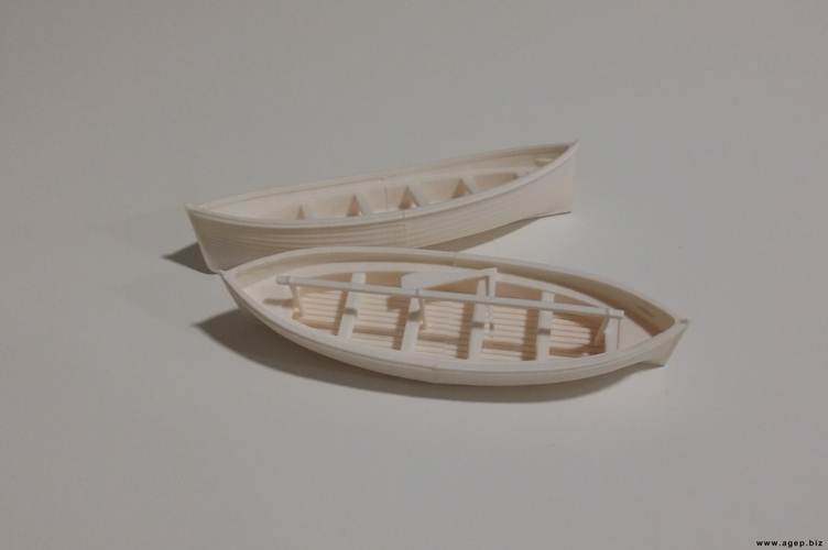 Lifeboats of the RMS Titanic 3D Print 130152