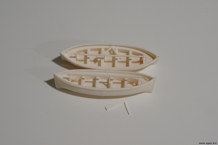 Lifeboats of the RMS Titanic 3D Print 130154
