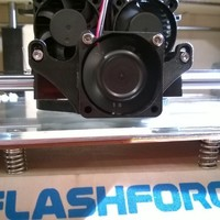 Small Flash Forge Cooling Fan Duct 3D Printing 130181