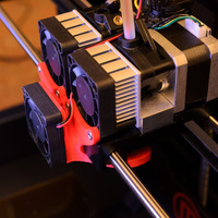 Small Replicator 2X Cooling Fan Duct 3D Printing 130188