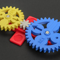 Small Math Gear(s) 3D Printing 130218