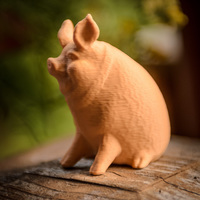 Small Garden Pig 3D Printing 130232