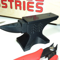 Small Blacksmith's Anvil 3D Printing 130239