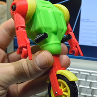 Small TyBot Rolo 3D Printing 130267