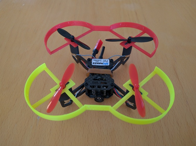 SPCMaker 90x quadcopter prop guards 3D Print 130276