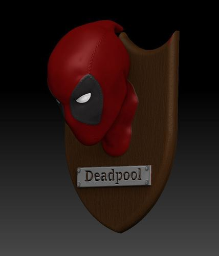 Deadpool Trophy  3D Print 130310