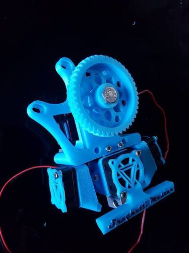 Fan guard with added light e3d 3D Print 130356