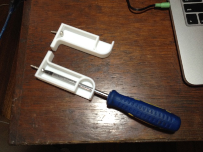 Yet Another Toilet Paper Holder 3D Print 130443