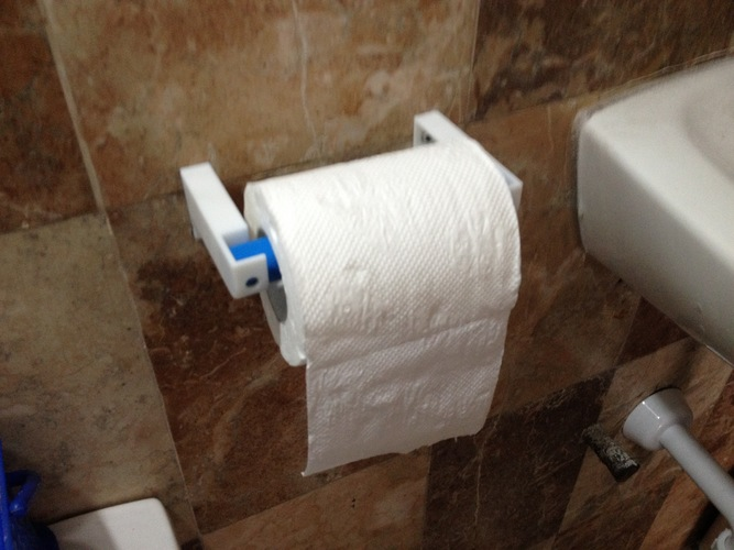 Yet Another Toilet Paper Holder 3D Print 130444