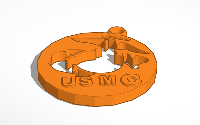 united states marine corps 3D Print 130462