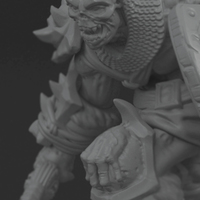 Small Undead soldier 3D Printing 130519