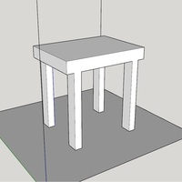 Small Table 3D Printing 130560