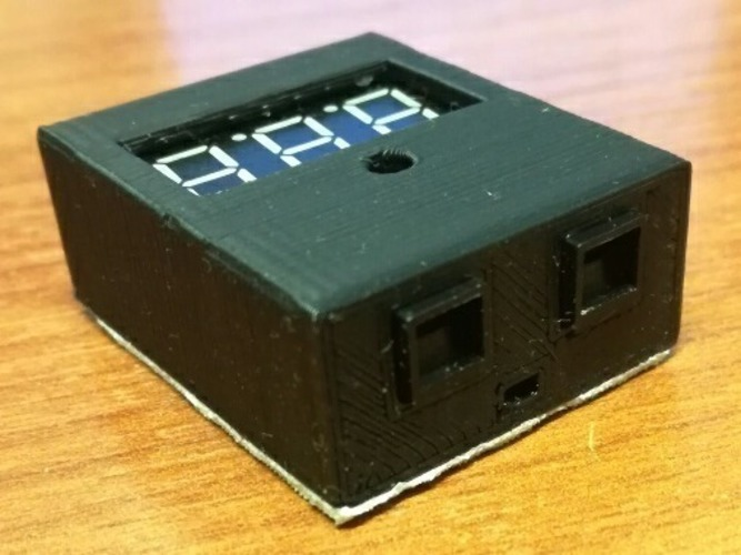 (Yet Another One) LiPO Voltage Meter / Alarm Enclosure 3D Print 130670