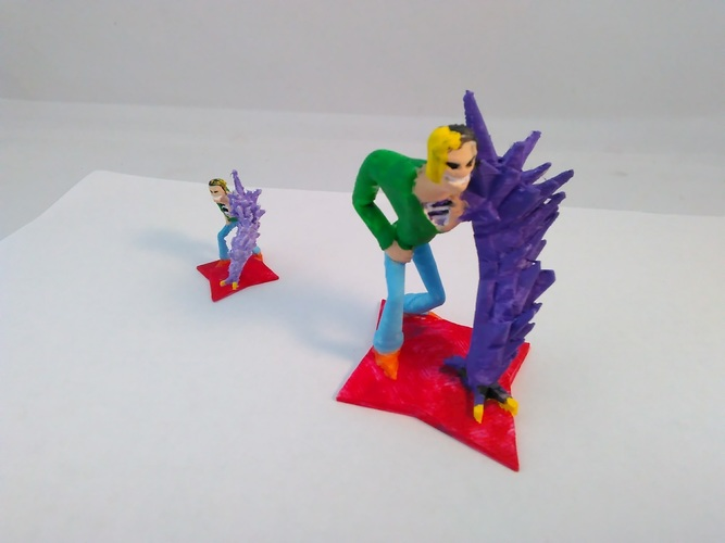Darkgem Forcepower - Kid's drawing to 3D mini 3D Print 130726