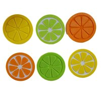 Small Citrus Fruit Slice Coaster 3D Printing 130739