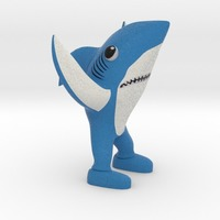 Small Left Shark 3D Printing 13075
