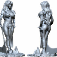 Small Sophitia 3D Printing 130758