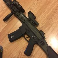 Small Ghk G5 strike front for carbine version  3D Printing 130783