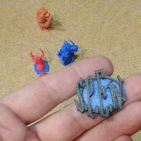 Small SPEW Badge Harry Potter  3D Printing 13082