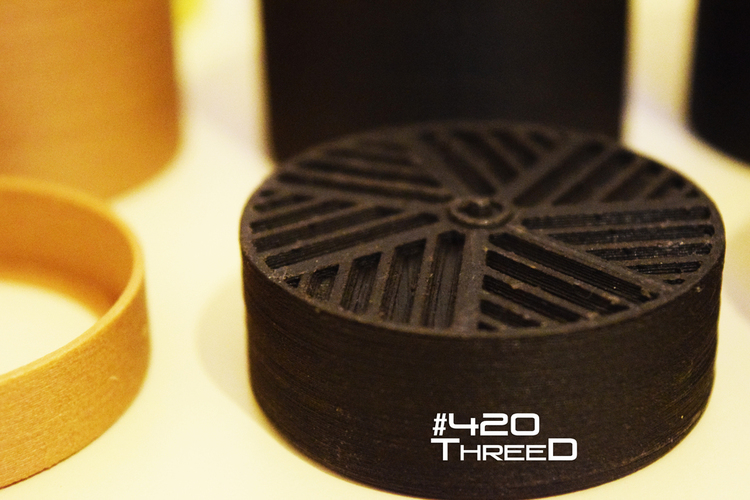 TOOTHLESS Herb gRINDER - by 420ThreeD 3D Print 130838