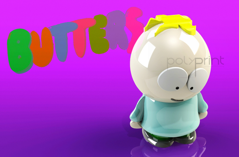 Butters Stotch - South Park 3D Print 130854