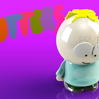 Small Butters Stotch - South Park 3D Printing 130854