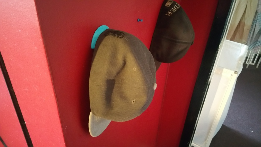 Hat Hook/Holder 3D Print 130893