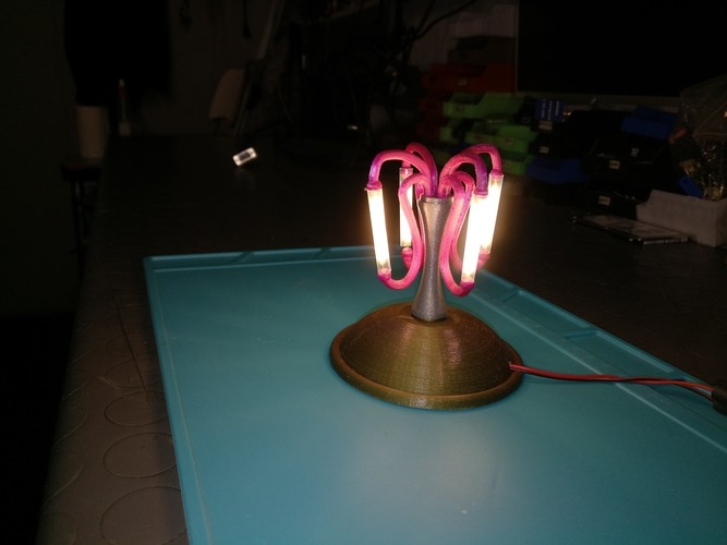 Mini led table lamp 3D Print 131108