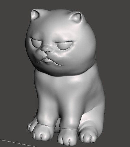 """NokHook"" The black cat 3D Print 131124"