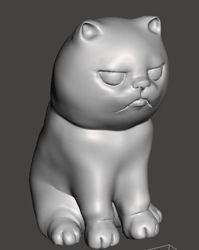 """NokHook"" The black cat 3D Print 131125"