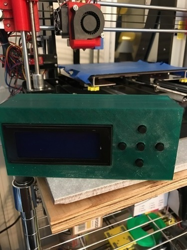 Zonestar LCD relocation Box 3D Print 131138