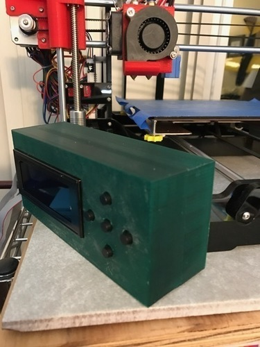 Zonestar LCD relocation Box 3D Print 131140
