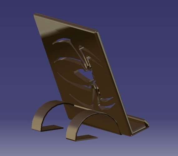 Phone/Tablet Stand 3D Print 131266