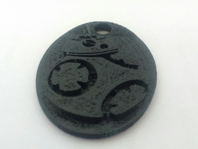 Star Wars BB8 Keychain 3D Print 131326