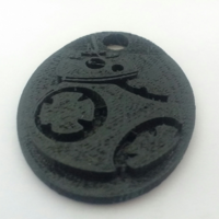 Small Star Wars BB8 Keychain 3D Printing 131326