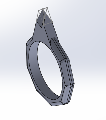 Ring weapon  3D Print 131327