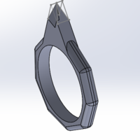 Small Ring weapon  3D Printing 131327