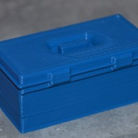 Small Scale 1/10 tool box 3D Printing 131335