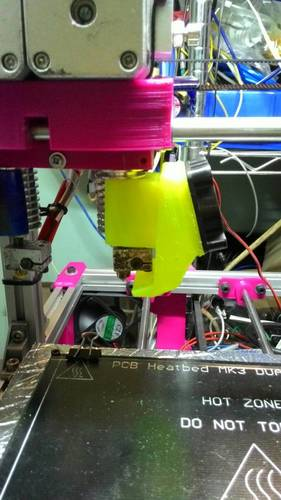 j_head 25mm. Fan with air cool object 3D Print 131395