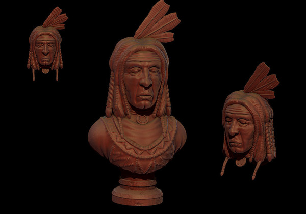 Medium LAKOTA 3D Printing 131405