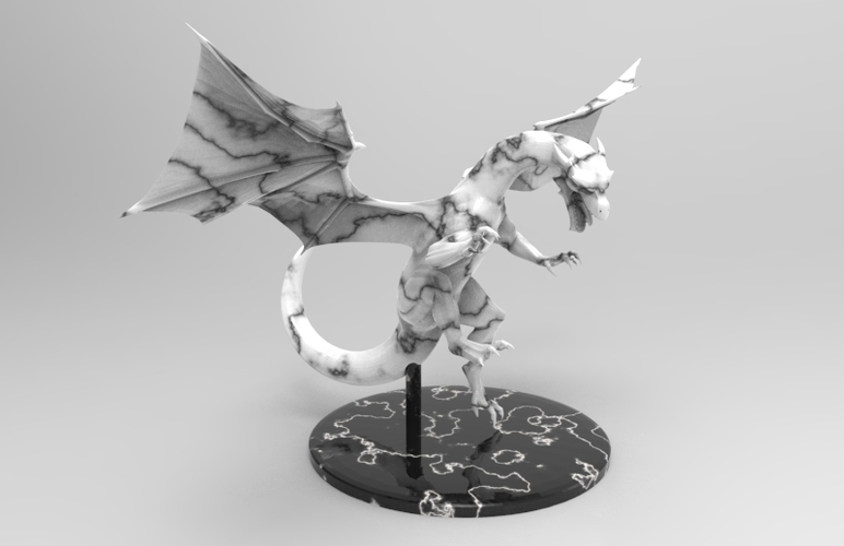 dragon attack 3D Print 131493