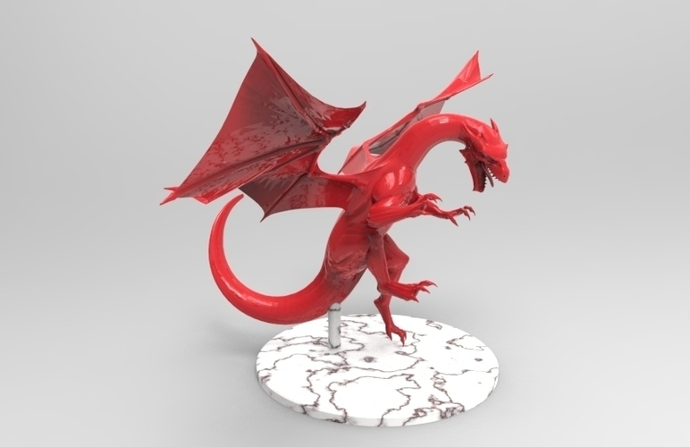 dragon attack 3D Print 131494